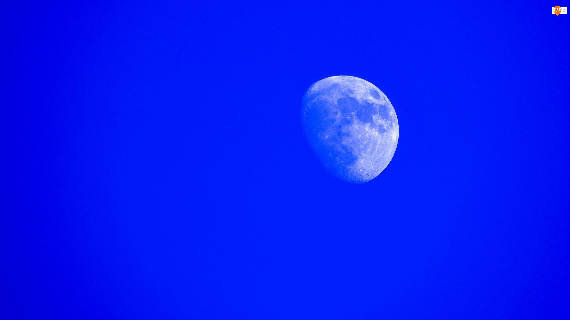 Niebo, Księżyc, Niebieskie