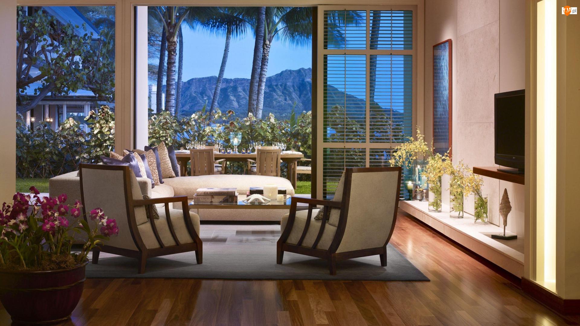 Pokój, Hotel Halekulani, Stany Zjednoczone, Wakacje, Hawaje, Wyspa Oahu, Honolulu