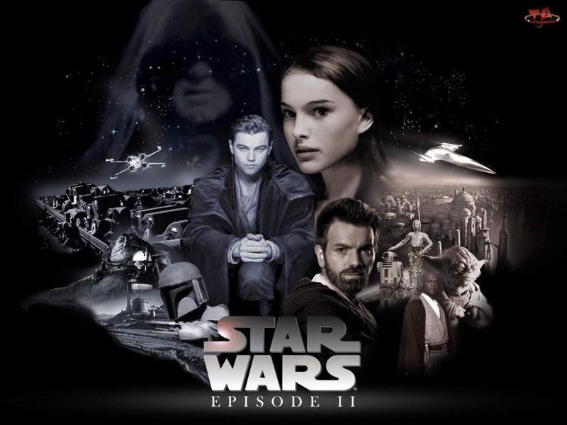 Star Wars Episode II Attack of the Clones, Gwiezdne wojny część II Atak klonów