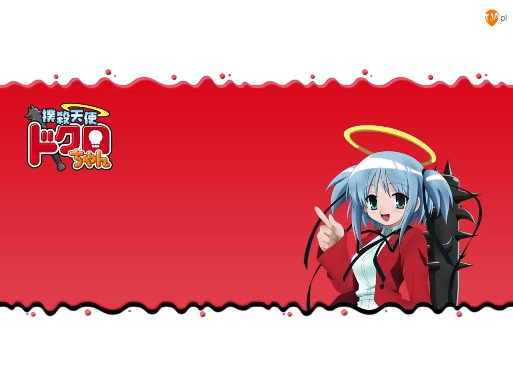 dziewczyna, Beating Angel Dokuro Chan, napis
