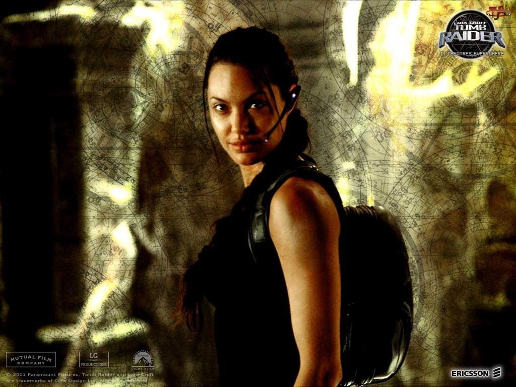 Angelina Jolie, plecak