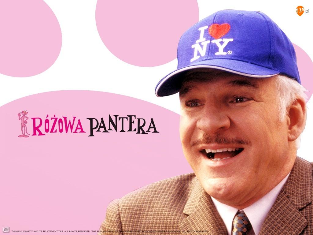 The Pink Panther, Steve Martin, usmiech, czapka, garnitur