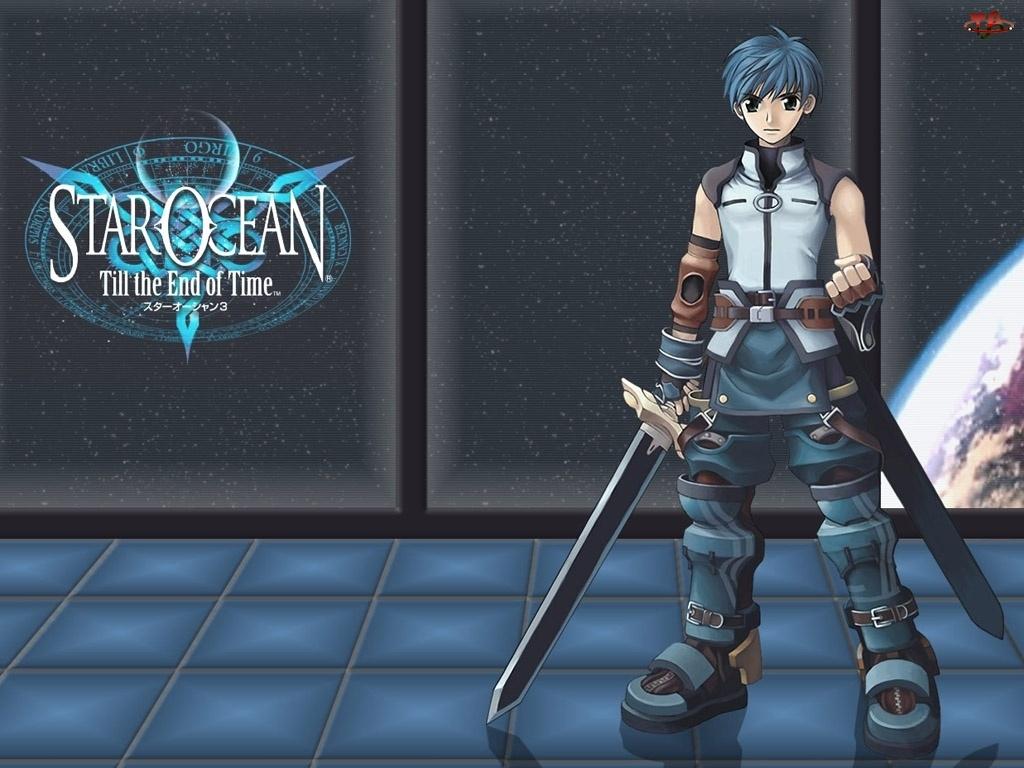 miecze, Star Ocean 3, chłopak