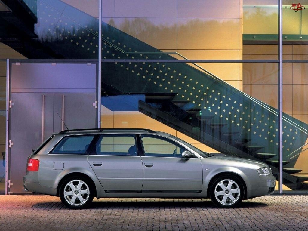 Kombi, Audi S6, Prawy Profil