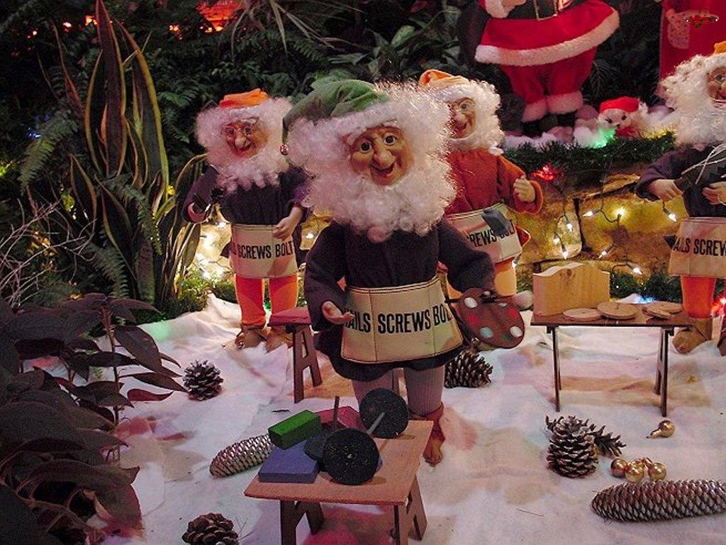 Boże Narodzenie, krasnale