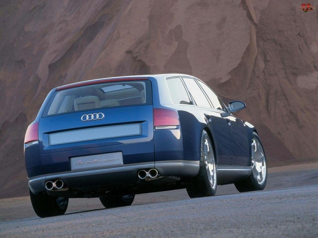 Audi Avantissimo, Tył