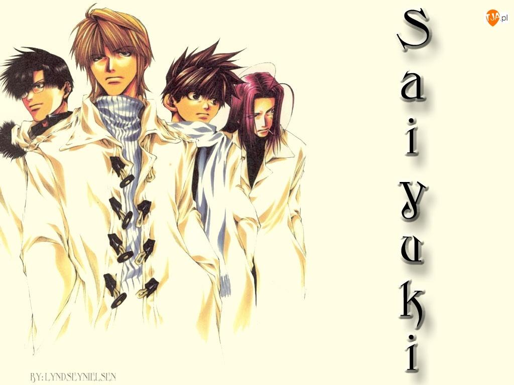 kremowe, Saiyuki, w płaszczach
