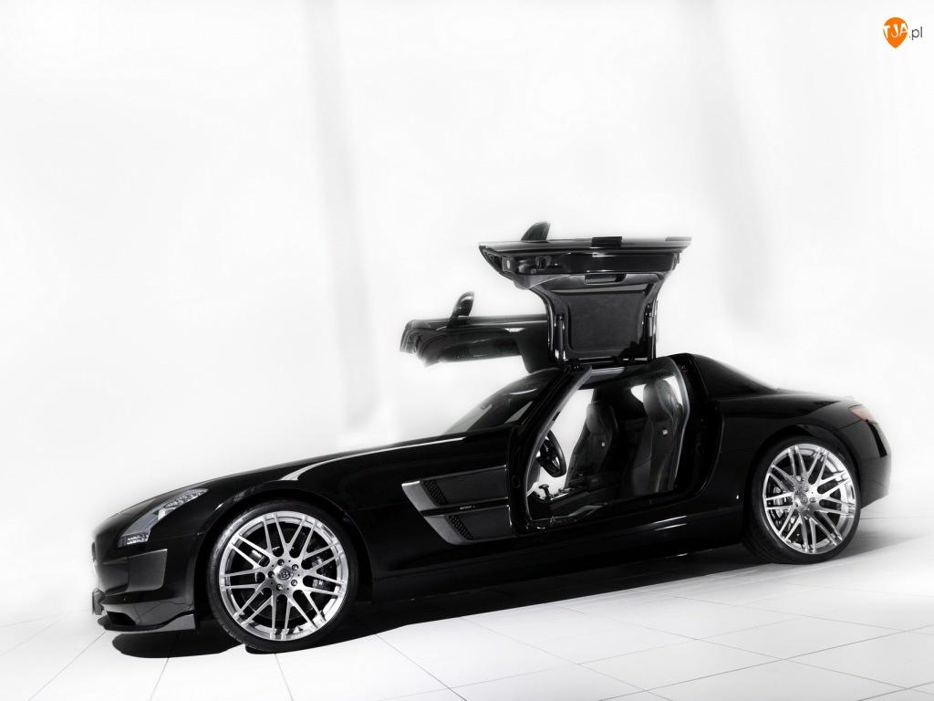 Drzwi, Mercedes SLS, Unoszone