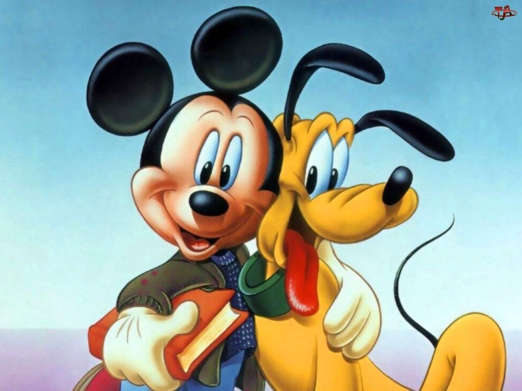 Myszka Miki, Pluto