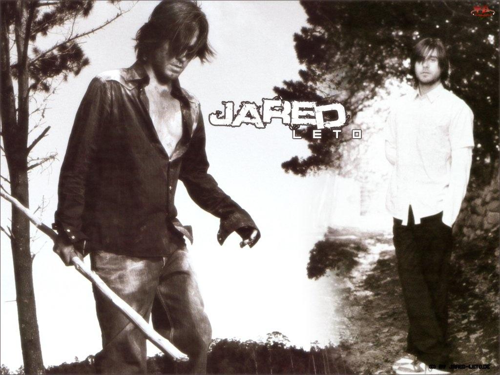 drzewa, Jared Leto, biała koszula