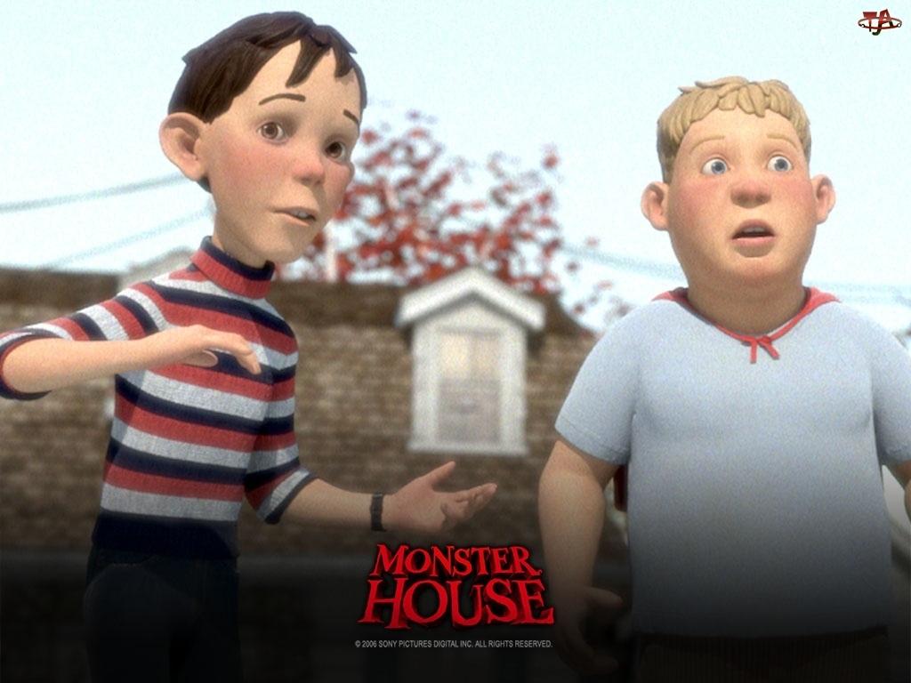 Monster house, chłopcy, Straszny dom
