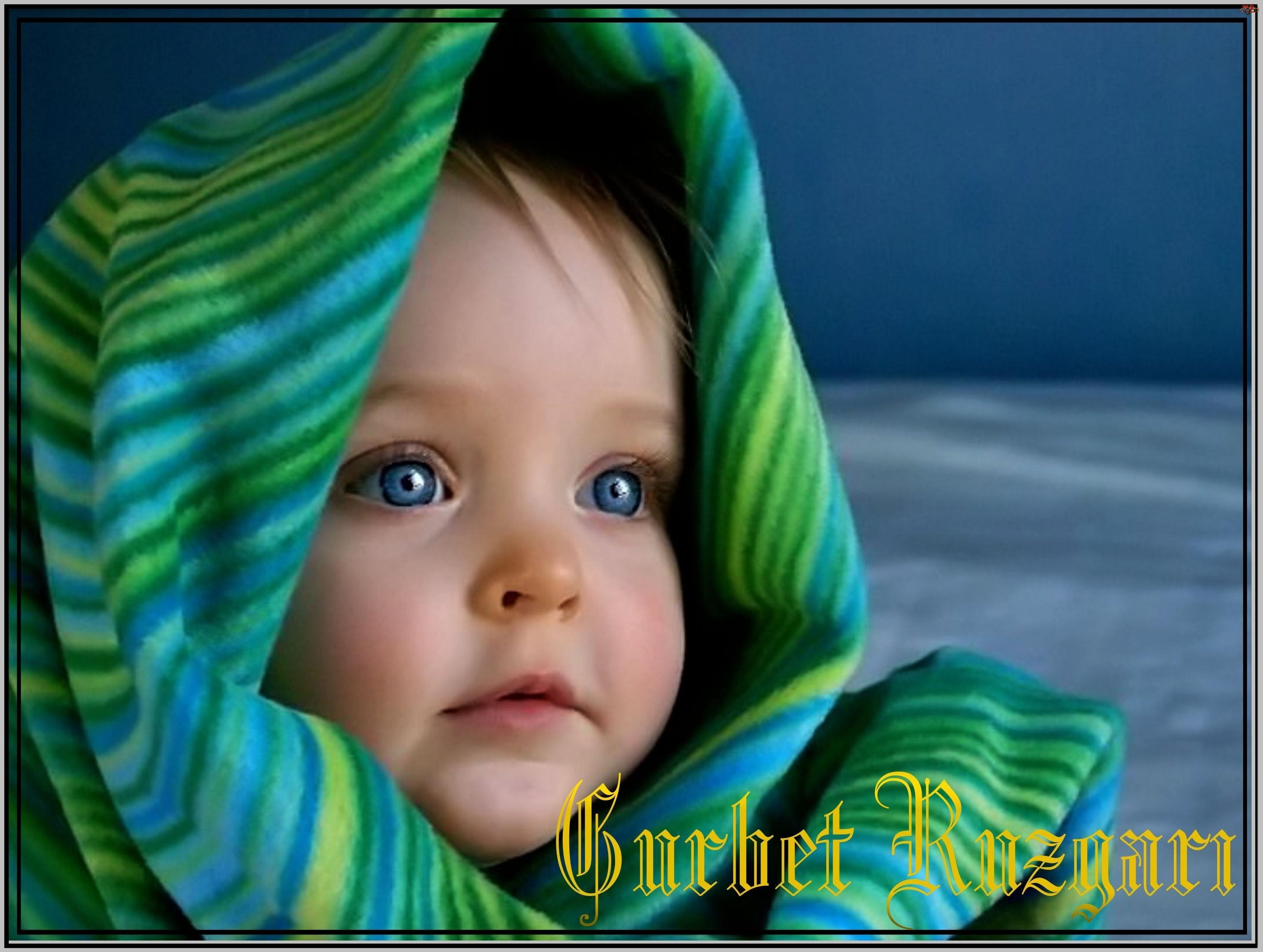 Oczy, Dziecko, Niebieskie