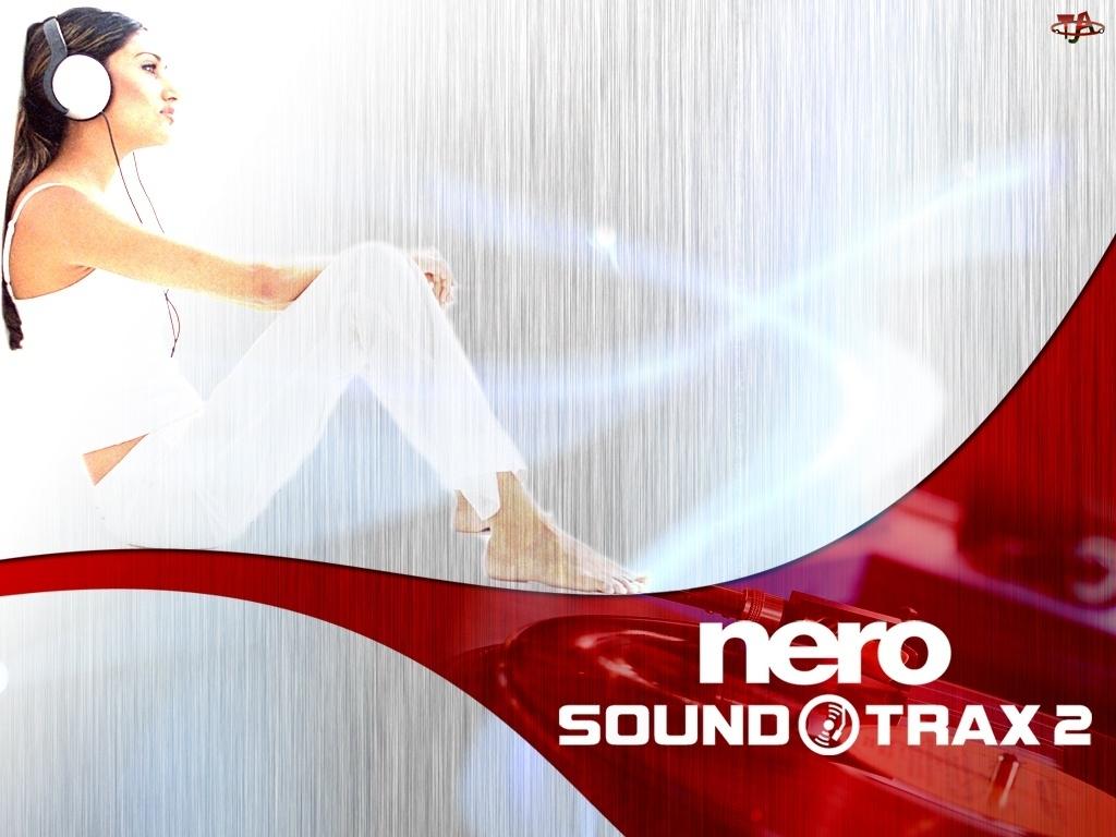 słuchawki, Nero, kobieta