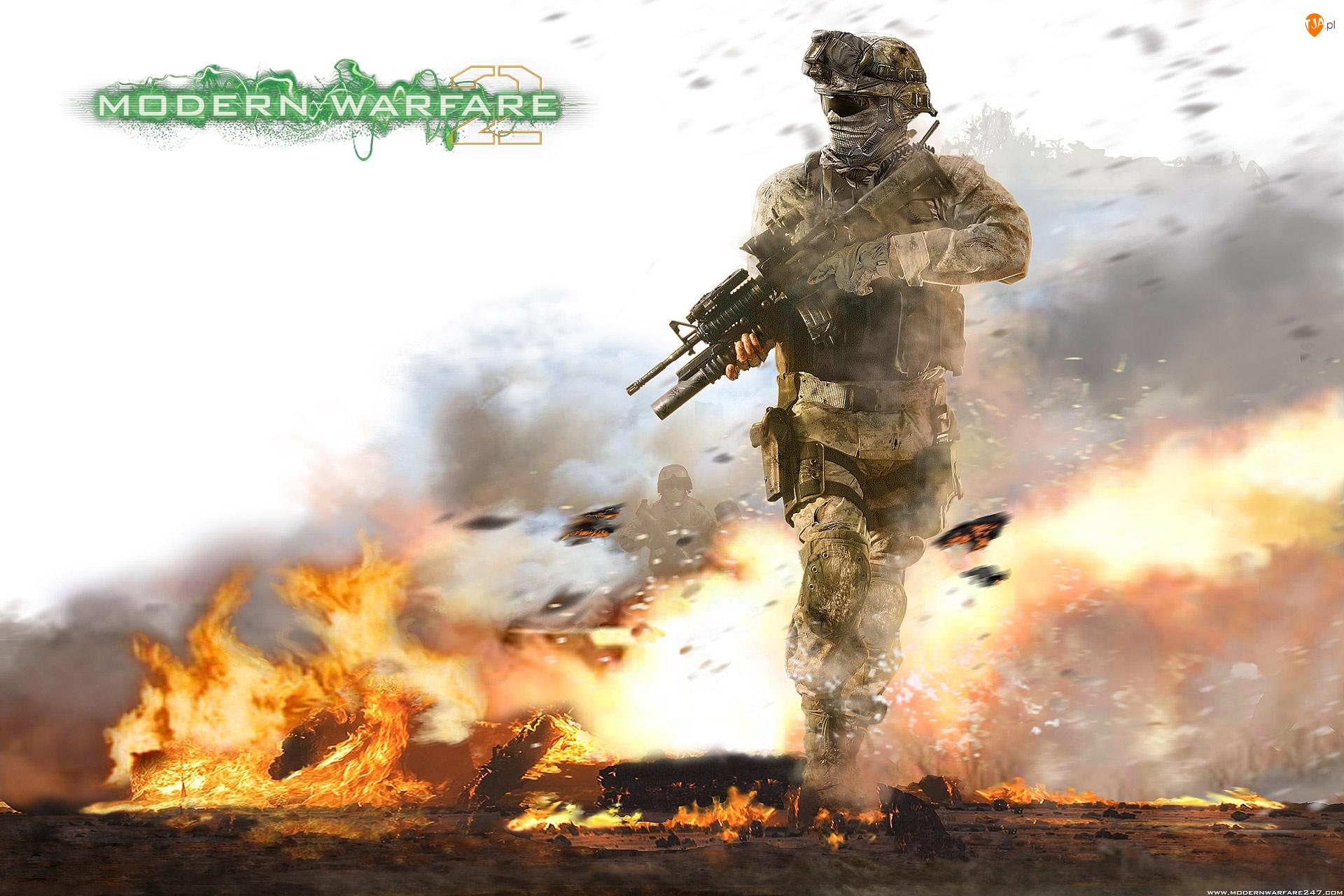 Call of Duty 6, Ogień
