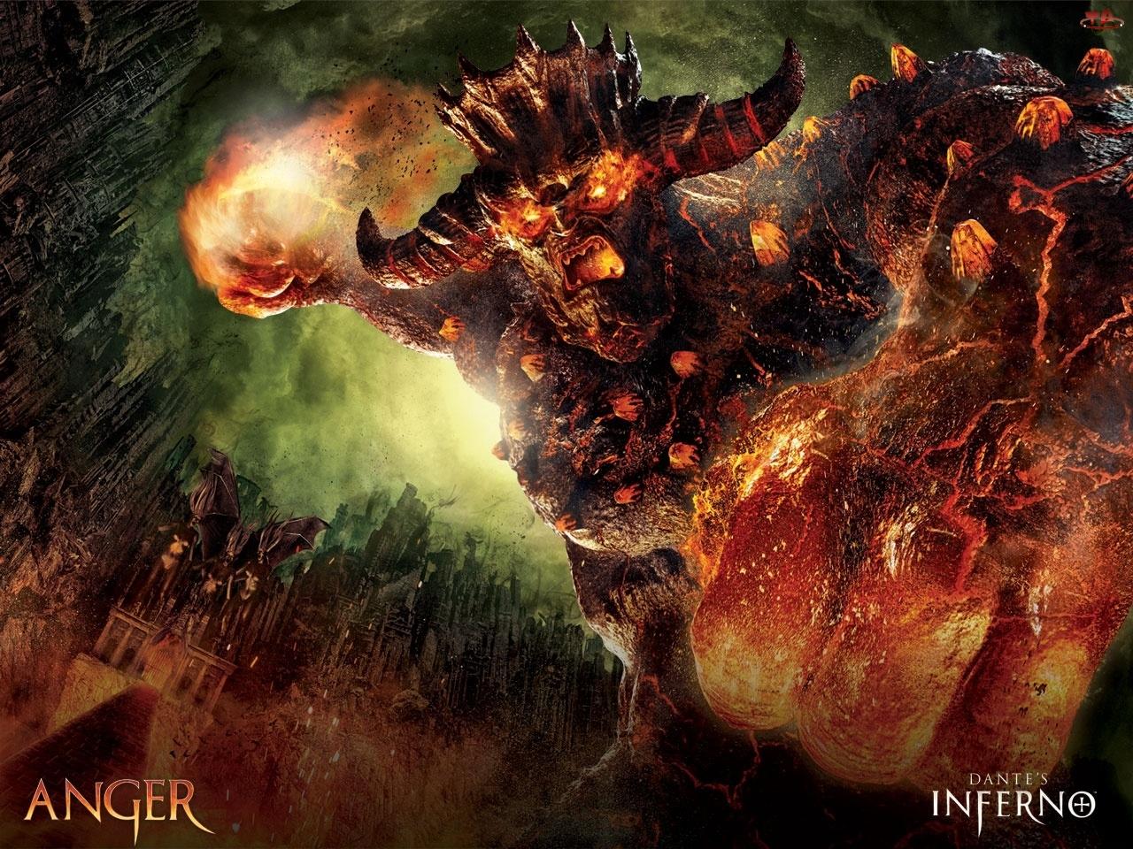 Anger, Dantes Inferno