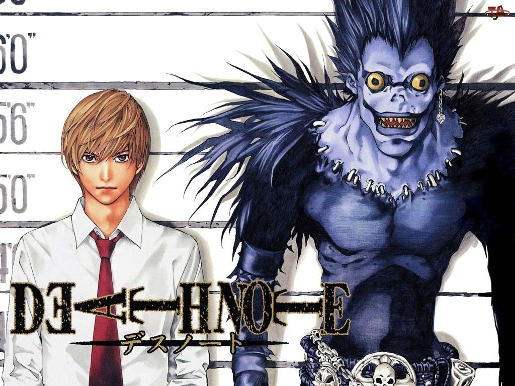 zdjęcie, facet, Death Note, potwór, podejrzany, postać