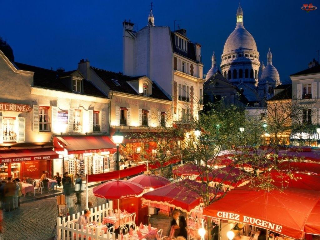 pub, Francja, miasto