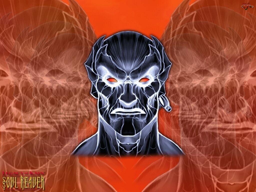 Legacy Of Kain Soul Reaver, grafika, postać, twarz