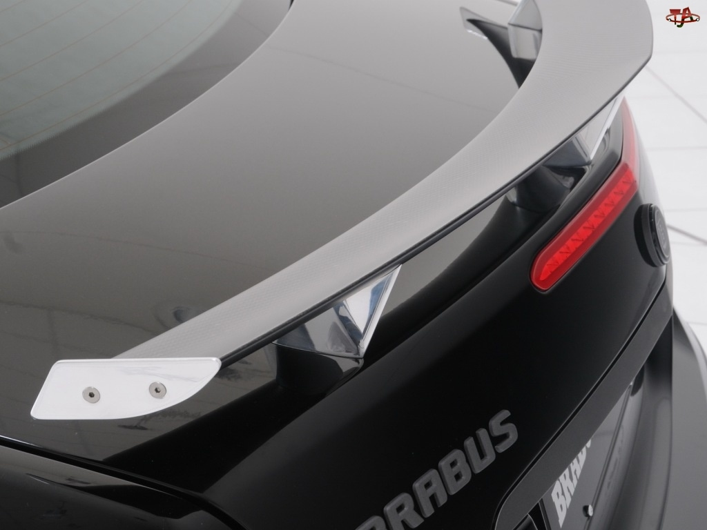 Spojler, Mercedes W212, Brabus