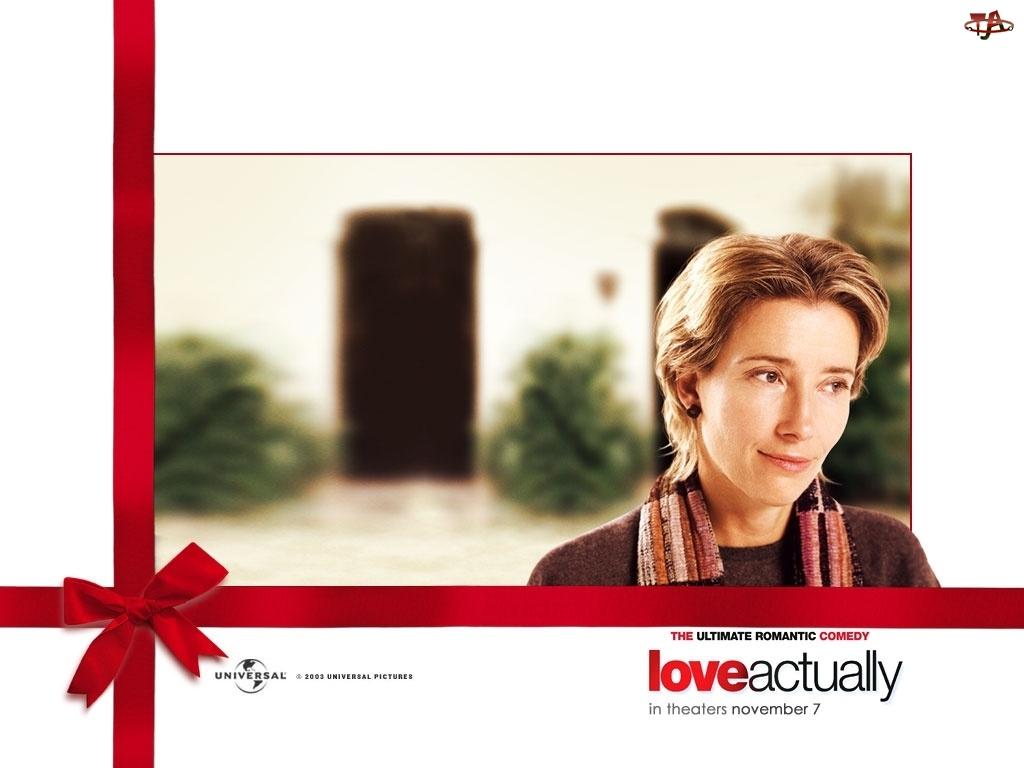 kokarda, Love Actually, Emma Thompson