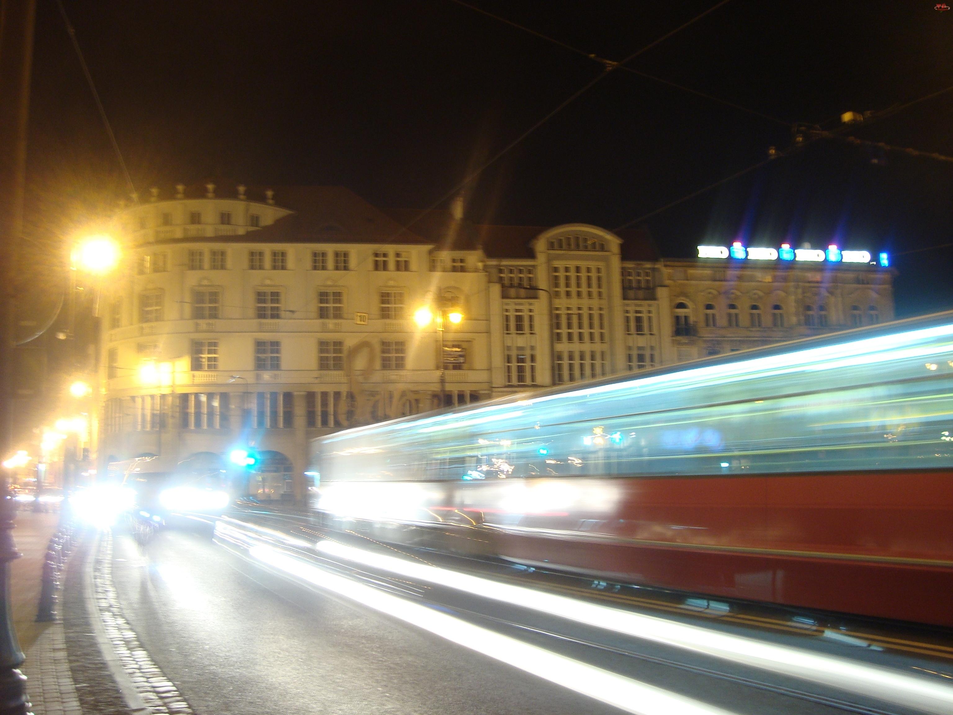 Bydgoszcz, Nocą