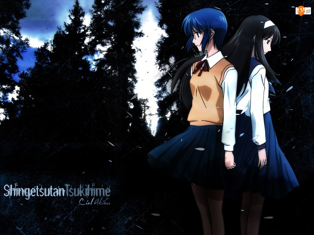 las, Shingetsutan Tsukihime, dziewczyny