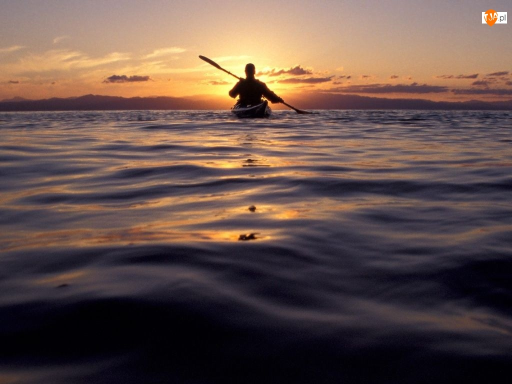 Zachód Słońca, Kajakarstwo, Jezioro
