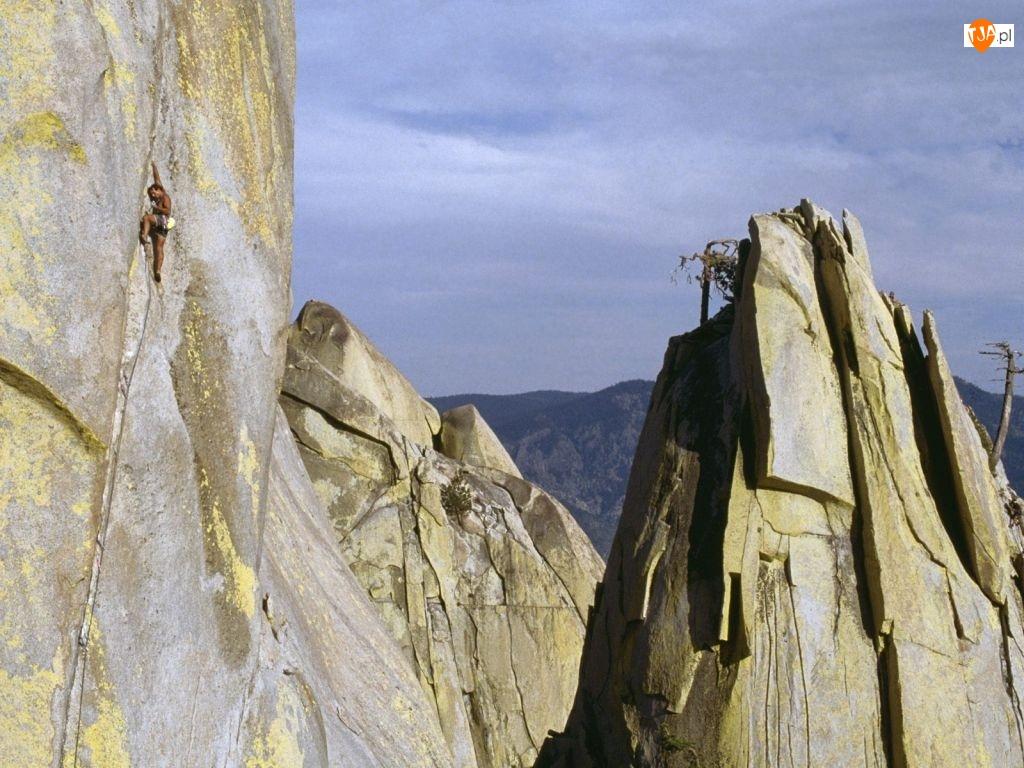 Wspinaczki, Góry Skaliste