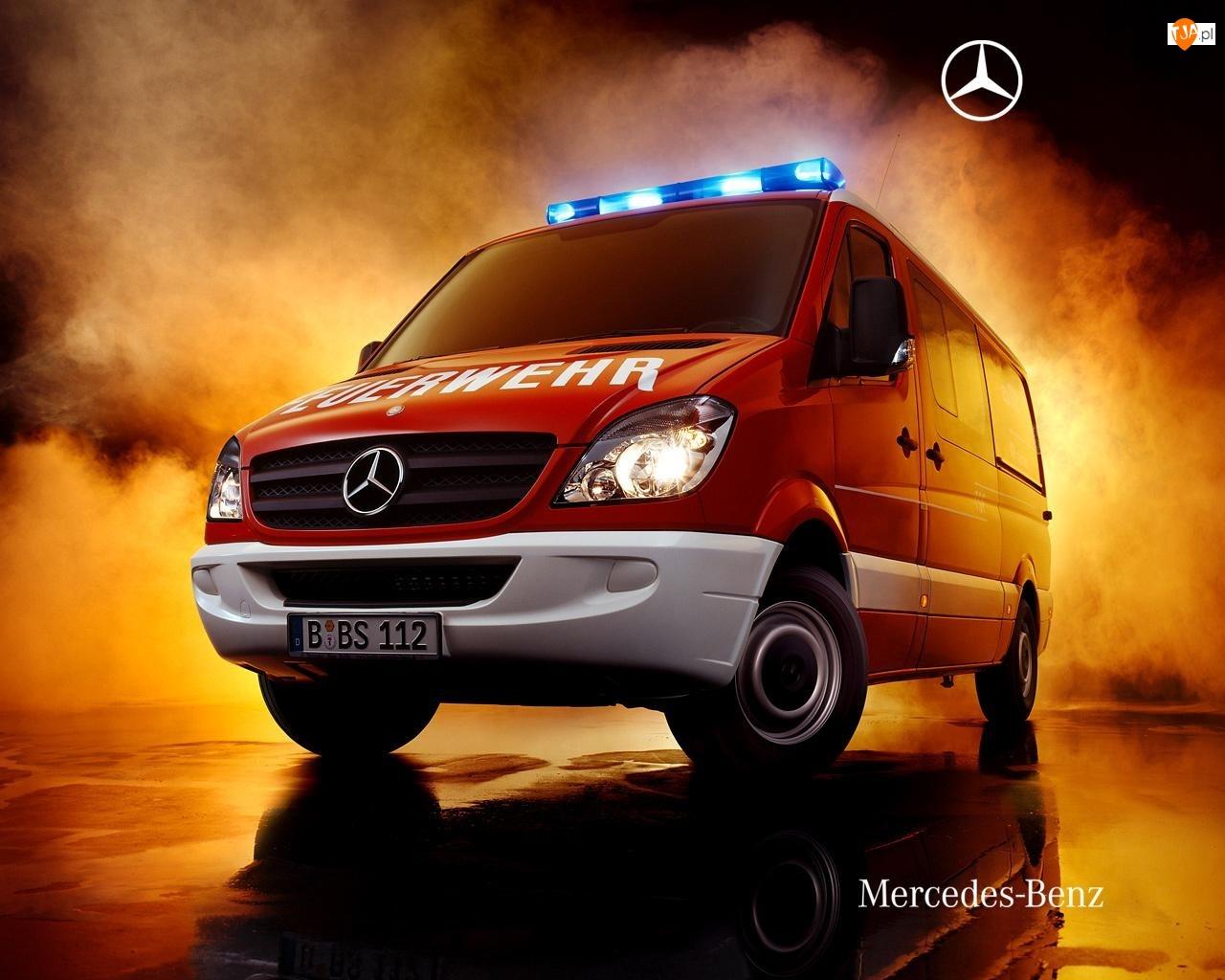 Strażacki, Mercedes, Sprinter