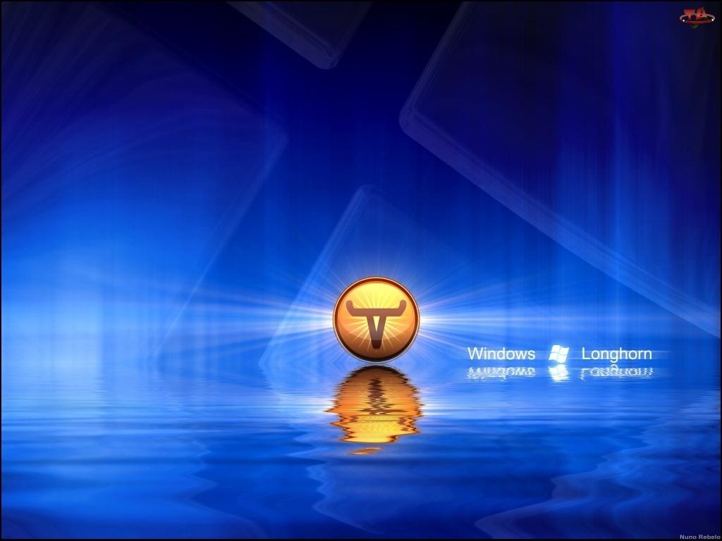 Longhorn, logo, grafika