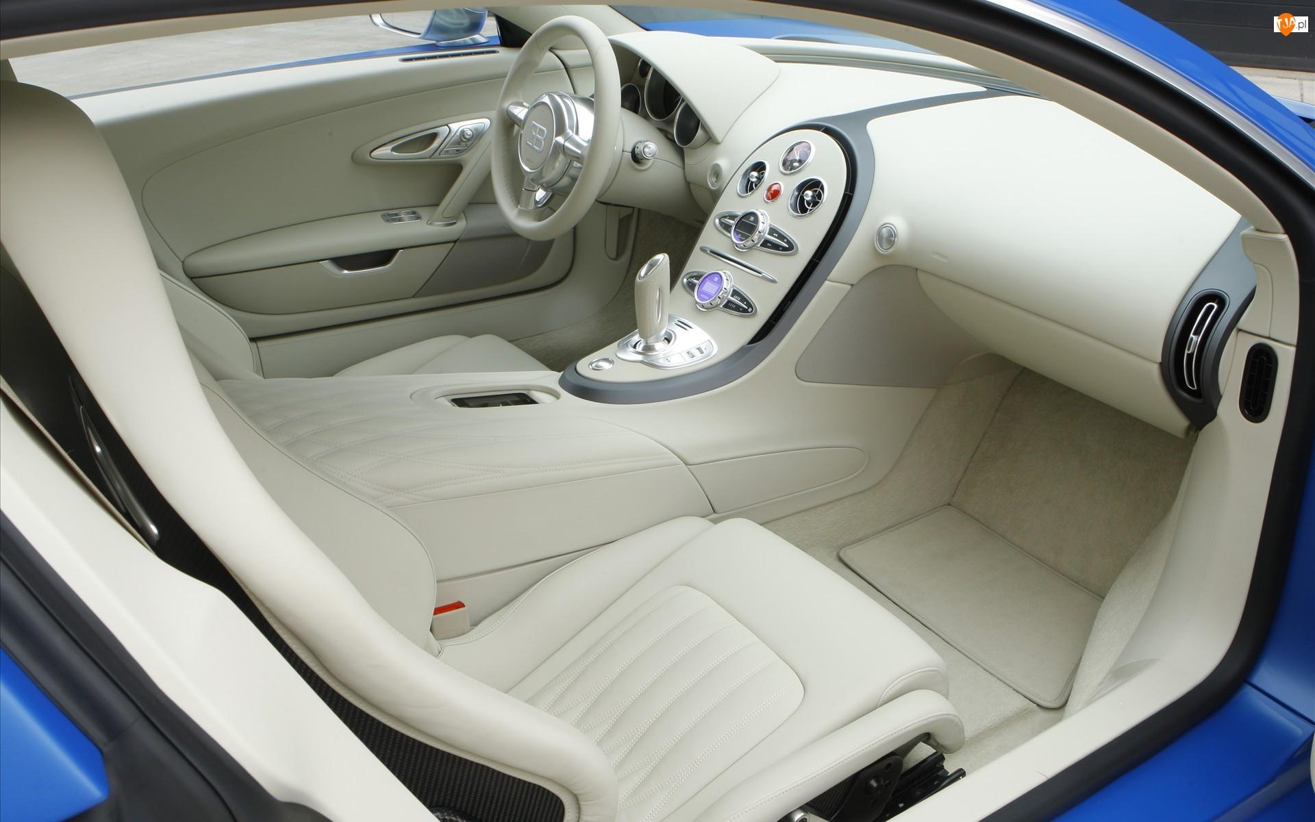 Bugatti Veyron, Jasne, Wnętrze