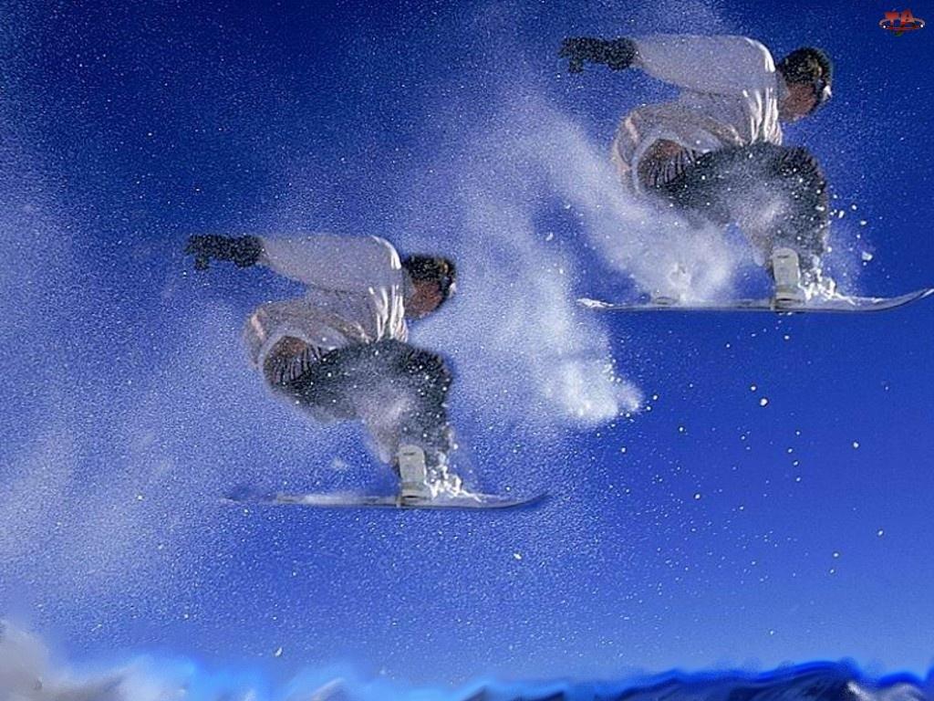 snowboardzista, Snowbording, deska