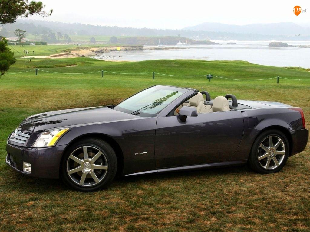 Cabrio, Czarny, Cadillac XLR