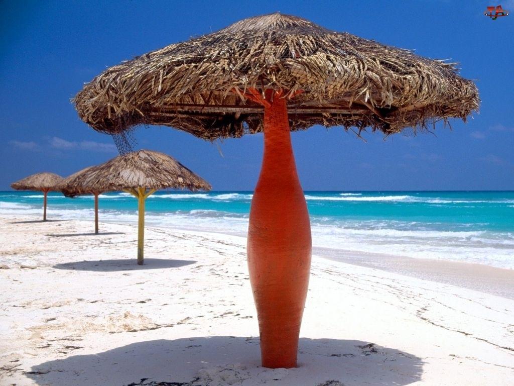 Plaża, Parasole