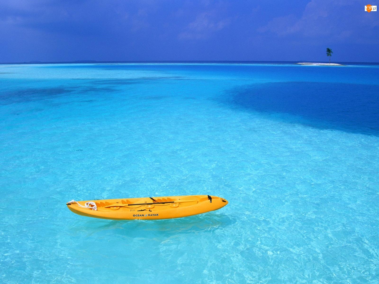 Wyspa, Kajak, Ocean
