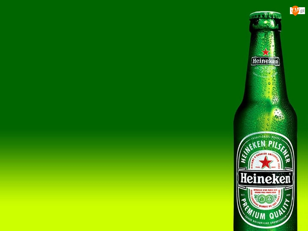 butelka, Piwo, Heineken