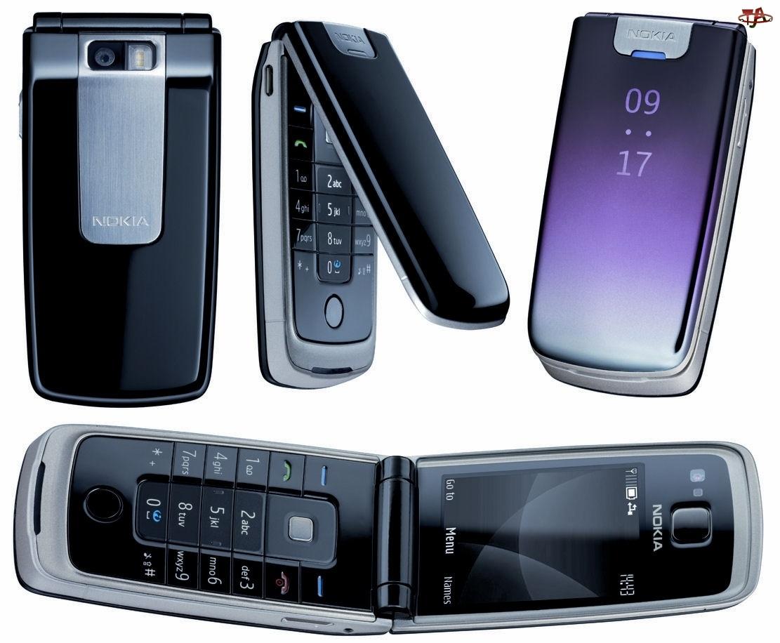Fioletowa, Nokia 6600 fold, Czarna