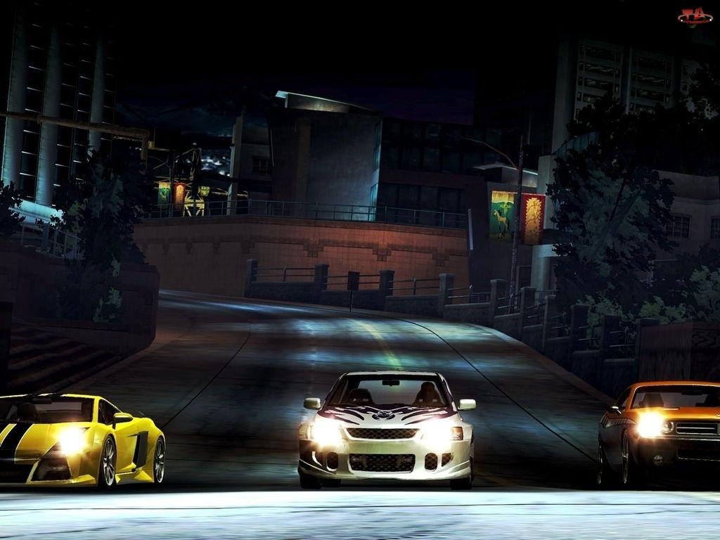 samochody, Need For Speed Carbon, ulica, samochód, noc