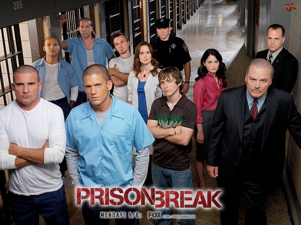 Prison Break, postacie, korytarz, cele