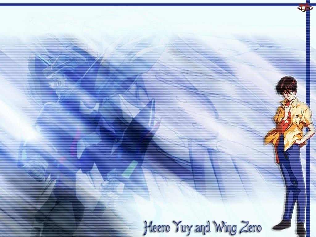 Gundam Wing, człowiek