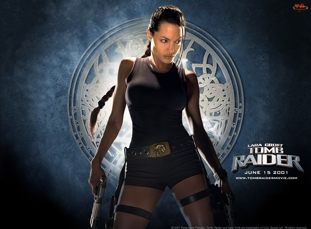 Lara Croft, Angelina Jolie, Jako