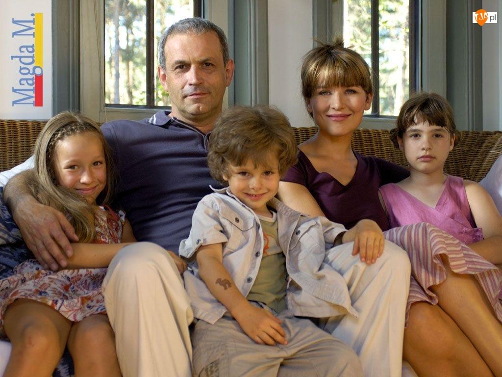 rodzina, Magda M, Krzysztof Stelmaszyk, Katarzyna Herman, dzieci