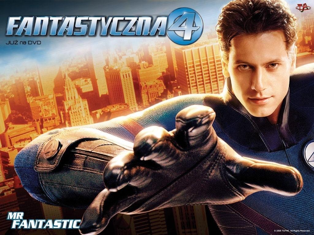 miasto, Fantastic Four 1, Ioan Gruffudd