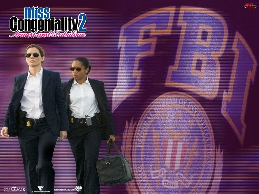 FBI, Miss Congeniality 2, Sandra Bullock, Regina King, agentki