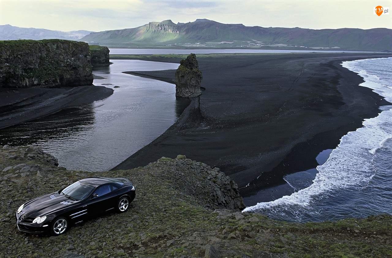Zatoka, Mercedes SLR, Krajobraz