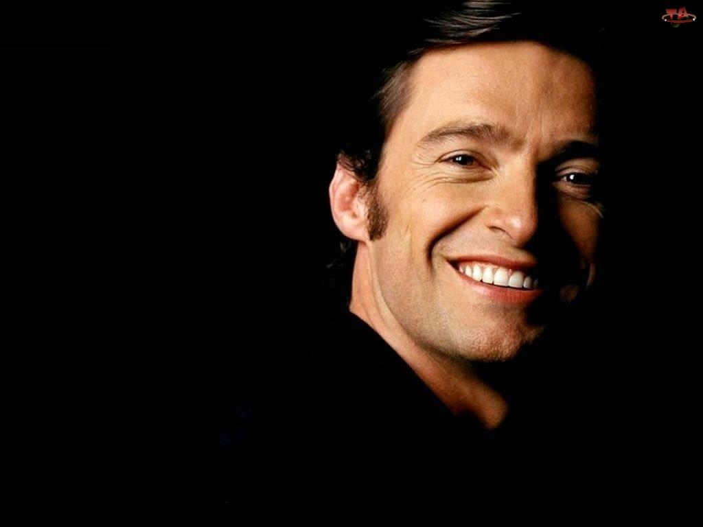 białe zęby, Hugh Jackman, uśmiech