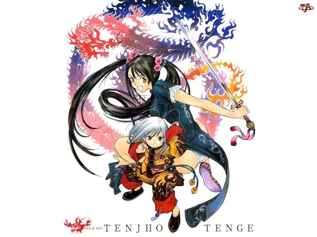 mały wojownik, Tenjo Tenge, miecz