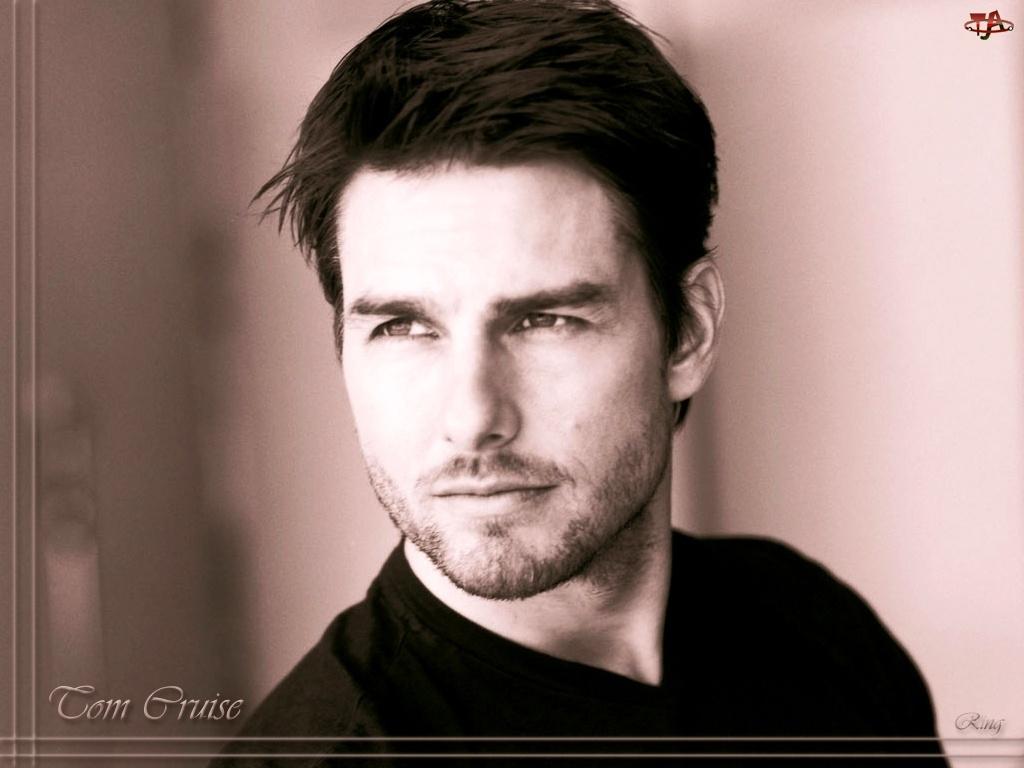Tom Cruise, ciemne włosy