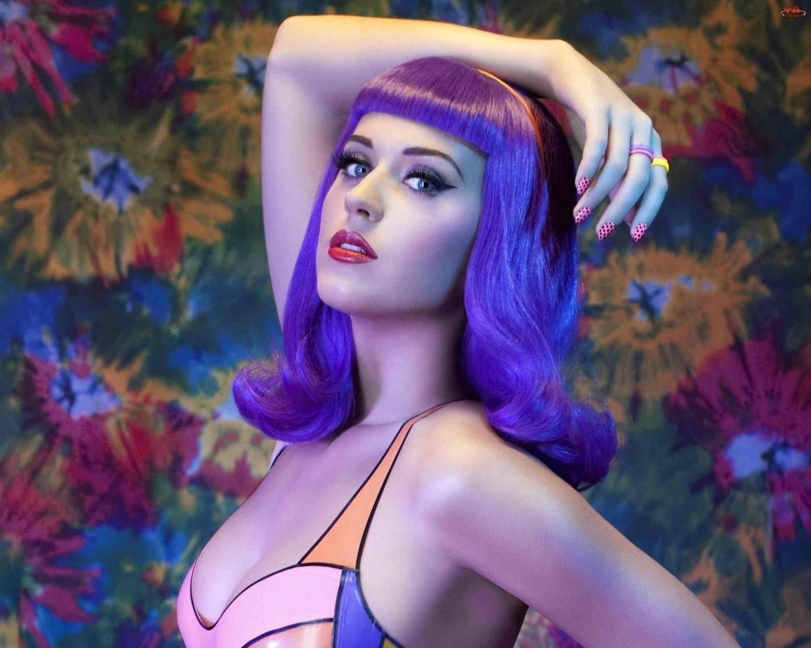 Peruka, Katy Perry, Fioletowa