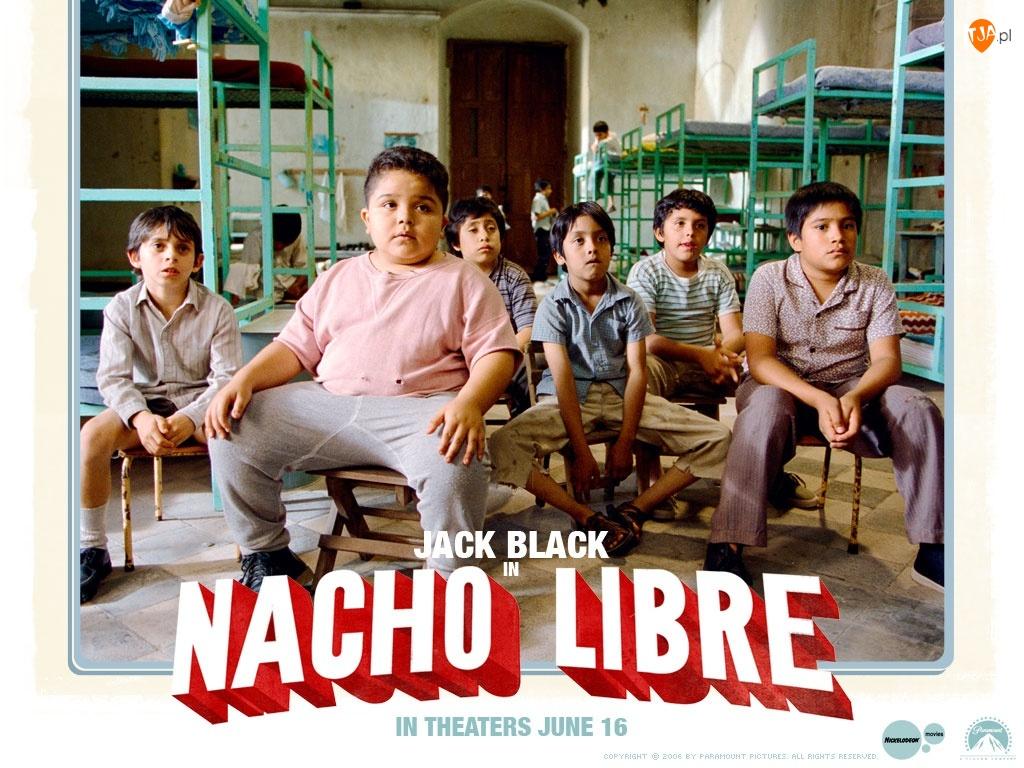 Nacho Libre, łóżka, Moises Arias, chłopcy